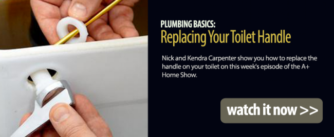 Plumbing Basics: Replacing Your Toilet Handle